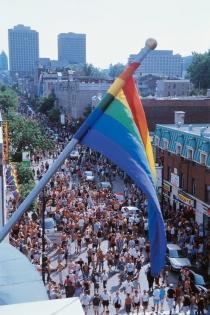 Divers/Cité Gay and Lesbian Pride Festival (Leblanc, J-François © Tourisme Québec. P.O: Tourisme Montréal. All Rights Reserved.)
