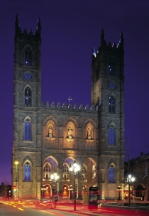 Notre-Dame Basilica of Montral (Poulin, Stphan  Poulin, Stphan; Tourisme Montral. All Rights Reserved.)