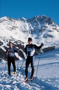 Ski de fond (Ryan, Tom © Ryan, Tom; Tourism BC. Organisme partenaire : Tourism BC. Tous droits réservés.)