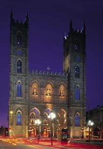 Bazilica Notre-Dame din Montreal (Poulin, Stéphan © Poulin, Stéphan; Tourisme Montréal. Toate drepturile rezervate.)